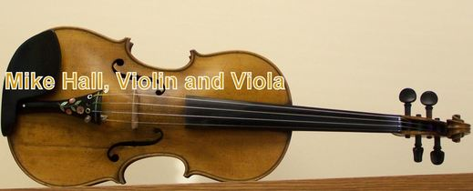 Mike Hall Violin (and viola)